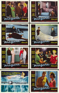 "Movie Posters:Film Noir, Niagara (20th Century Fox, 1953). Lobby Card Set of 8 (11"" X 14"").... (Total: 8 Items)"