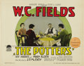 "Movie Posters:Comedy, The Potters (Paramount, 1927). Title Lobby Card (11"" X 14""). ..."