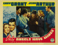 "Movie Posters:Drama, Only Angels Have Wings (Columbia, 1939). Lobby Cards (2) (11"" X14""). ... (Total: 2 Items)"