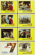 "Movie Posters:Western, The Magnificent Seven (United Artists, 1960). Lobby Card Set of 8(11"" X 14"").... (Total: 8 Items)"