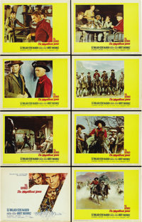 "The Magnificent Seven (United Artists, 1960). Lobby Card Set of 8 (11"" X 14"").... (Total: 8 Items)"