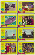 "Movie Posters:Action, Batman (20th Century Fox, 1966). Lobby Card Set of 8 (11"" X 14"").... (Total: 8 Items)"