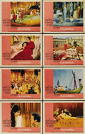 "Movie Posters:Drama, Cleopatra (20th Century Fox, 1963). Lobby Card Set of 8 (11"" X14""). ... (Total: 8 Items)"