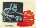"Movie Posters:War, Passage to Marseille (Warner Brothers, 1944). Half Sheet (22"" X 28"") Style A. ..."