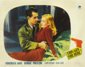 "Movie Posters:Film Noir, This Gun for Hire (Paramount, 1942). Lobby Card (11"" X 14""). ..."
