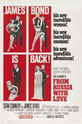 "Movie Posters:James Bond, From Russia with Love (United Artists, 1964). One Sheet (27"" X 41"") Style B. ..."