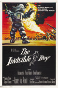 "Movie Posters:Science Fiction, The Invisible Boy (MGM, 1957). One Sheet (27"" X 41""). ..."
