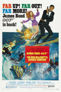 "Movie Posters:James Bond, On Her Majesty's Secret Service (United Artists, 1969). One Sheet(27"" X 41"") Style B...."