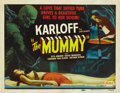 "Movie Posters:Horror, The Mummy (Realart, R-1951). Title Lobby Card (11"" X 14""). ..."