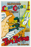"Movie Posters:Animated, Tom Thumb (Powers ComiColor Cartoons, 1936). One Sheet (27"" X 41"")....."