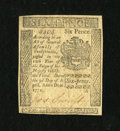 Colonial Notes:Pennsylvania, Pennsylvania April 3, 1772 6d Extremely Fine....