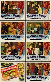 "Deadline at Dawn (RKO, 1946). Lobby Card Set of 8 (11"" X 14""). ... (Total: 8 Items)"
