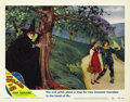 "Movie Posters:Musical, The Wizard of Oz (MGM, R-1949). Lobby Card (11"" X 14""). ..."