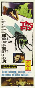 "Movie Posters:Horror, The Fly (20th Century Fox, 1958). Insert (14"" X 36""). ..."