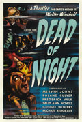 """Movie Posters:Horror, Dead of Night (Universal, 1946). One Sheet (27"""" X 41""""). ..."""