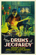 "Movie Posters:Horror, The Drums of Jeopardy (Tiffany, 1931). One Sheet (27"" X 41""). ..."