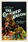 "Movie Posters:Western, The Covered Wagon (Paramount, 1923). One Sheet (27"" X 41"") StyleA...."