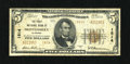 National Bank Notes: , Montgomery, AL - $5 1929 Ty. 2 The First NB Ch. # 1814...