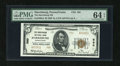 National Bank Notes: , Harrisburg, PA - $5 1929 Ty. 2 The Harrisburg NB Ch. # 580...