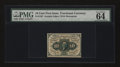 Fractional Currency:First Issue, Fr. 1242 10¢ First Issue PMG Choice Uncirculated 64 EPQ....