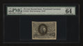 Fractional Currency:Second Issue, Fr. 1245 10¢ Second Issue PMG Choice Uncirculated 64 EPQ....