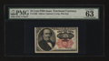 Fractional Currency:Fifth Issue, Fr. 1308 25¢ Fifth Issue PMG Choice Uncirculated 63 EPQ....