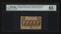 Fractional Currency:First Issue, Fr. 1280 25¢ First Issue PMG Gem Uncirculated 65 EPQ....