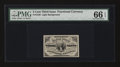 Fractional Currency:Third Issue, Fr. 1226 3¢ Third Issue PMG Gem Uncirculated 66 EPQ....