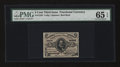 Fractional Currency:Third Issue, Fr. 1236 5¢ Third Issue PMG Gem Uncirculated 65 EPQ....
