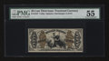 Fractional Currency:Third Issue, Fr. 1347 50¢ Third Issue Justice PMG About Uncirculated 55....