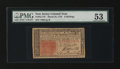 Colonial Notes:New Jersey, New Jersey March 25, 1776 6s PMG About Uncirculated 53....