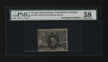 Fractional Currency:Second Issue, Fr. 1232 5c Second Issue PMG Choice About Unc 58....