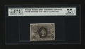 Fractional Currency:Second Issue, Fr. 1249 10c Second Issue PMG About Uncirculated 55 Net....