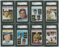 Baseball Cards:Sets, 1964 Topps Baseball Partial Set (487/587)....