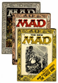 Magazines:Mad, Mad #25-27 and 29 Group (EC, 1955-56) Condition: Average FN....(Total: 4 Comic Books)
