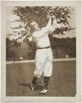 "Golf Collectibles:Autographs, 1920's Robert T. ""Bobby"" Jones Signed Photograph...."