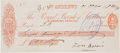 "Golf Collectibles:Autographs, 1898 ""Old Tom"" Morris Signed Check...."