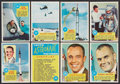"Non-Sport Cards:Sets, 1969 Topps ""Astronauts"" Complete Set (55) With 3D Glasses. ..."