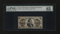 Fractional Currency:Third Issue, Fr. 1294 25¢ Third Issue PMG Choice Uncirculated 63 EPQ....