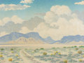 Texas:Early Texas Art - Regionalists, LEWIS TEEL (American, 1883-1960). Spring in the Desert. Oilon panel. 21 x 28 inches (53.3 x 71.1 cm). Signed lower left...