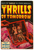 Golden Age (1938-1955):Horror, Thrills of Tomorrow #17 (Harvey, 1954) Condition: VG/FN....
