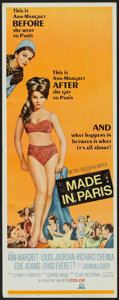 """Movie Posters:Comedy, Made in Paris (MGM, 1966). Insert (14"""" X 36""""). Comedy.. ..."""