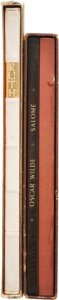Books:Signed Editions, Oscar Wilde: Three Limited Edition Volumes, including: The Book of Ruth and two copies of Salomé. Light wear... (Total: 3 Items)