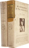 Books:Signed Editions, John J. Pershing: My Experiences in the World War (Two Volumes). New York: Frederick A. Stokes, 1931. Signed b... (Total: 2 Items)