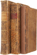 Books:Non-fiction, Three Early Books on Surveying, including: Samuel Wyld. The Practical Surveyor, or, the Art of Land- Measuring Made ... (Total: 3 Items)