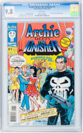 Modern Age (1980-Present):Humor, Archie Meets the Punisher #1 (Archie/Marvel, 1994) CGC NM/MT 9.8White pages....