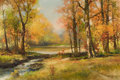 Paintings, ROBERT WILLIAM WOOD (American, 1889-1979). Autumn Landscape, 1955. Oil on canvas. 24 x 36 inches (61.0 x 91.4 cm). Signe...
