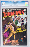 Bronze Age (1970-1979):Adventure, Tomahawk #127 (DC, 1970) CGC NM- 9.2 White pages....