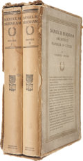 Books:First Editions, Charles Moore. Daniel H. Burnham: Architect Planner ofCities. Boston: Houghton Mifflin Company, 1921. First edi...(Total: 2 Items)