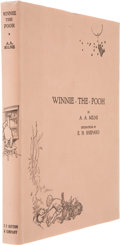 Books:Signed Editions, A. A. Milne. Winnie-the-Pooh. [New York]: E. P. Dutton,[1926].. First American edition. Limited to 200 copies...